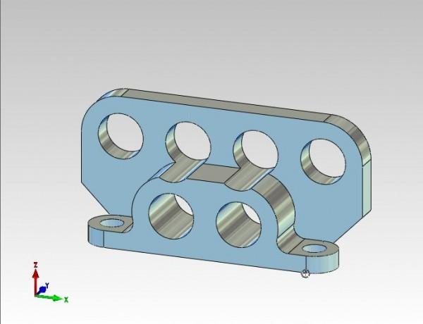 Rohrhalter für Festverrohrung Hydraulikbagger 6fach Ausleger